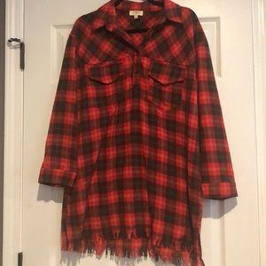 Umgee Large flannel dress
